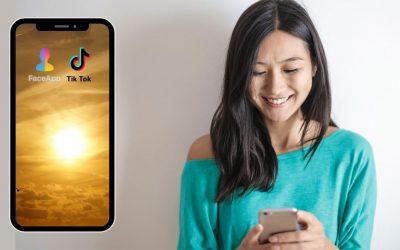 Tik Tok y Faceapp: Su viralidad y que hay detrás de estas apps